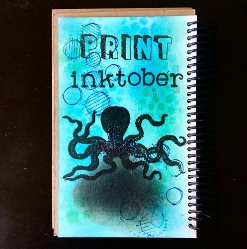 Print Inktober Title Page