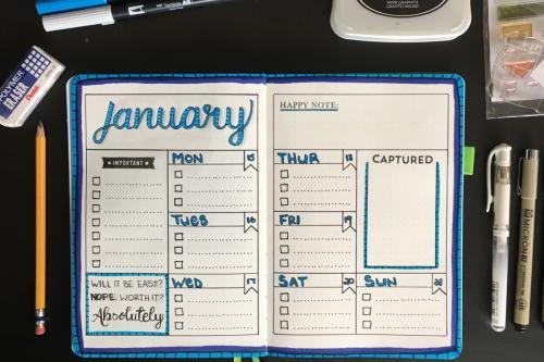 January 2018 Layout